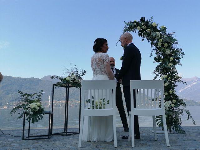 Il matrimonio di Massimo  e Letizia  a Lierna, Como 5