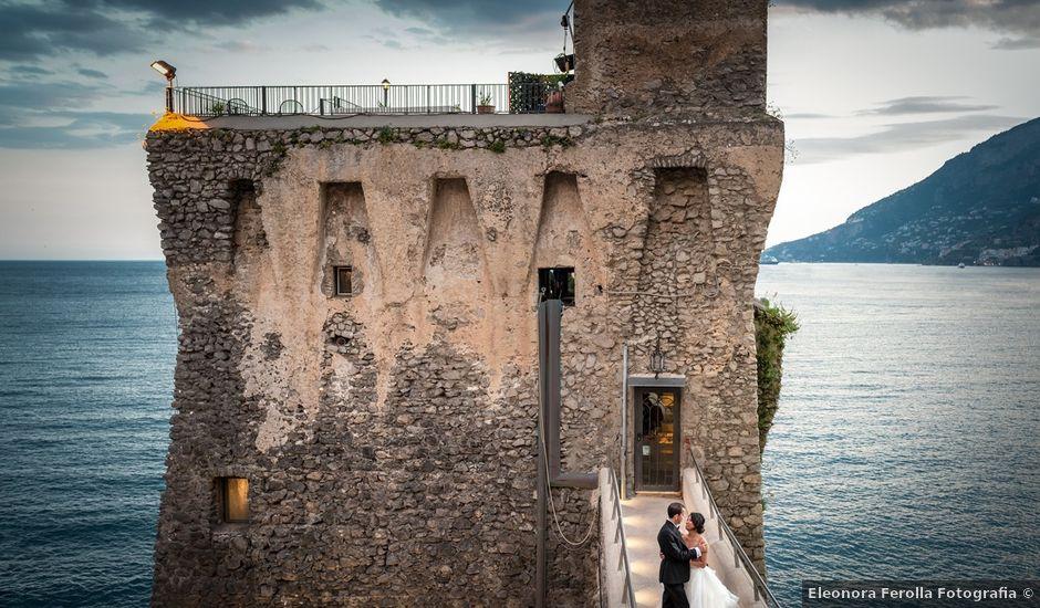 Il matrimonio di Angelo e Yana a Maiori, Salerno