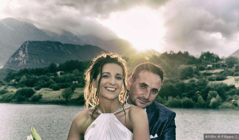 Il matrimonio di Emilio e Laetitia a Castel San Vincenzo, Isernia