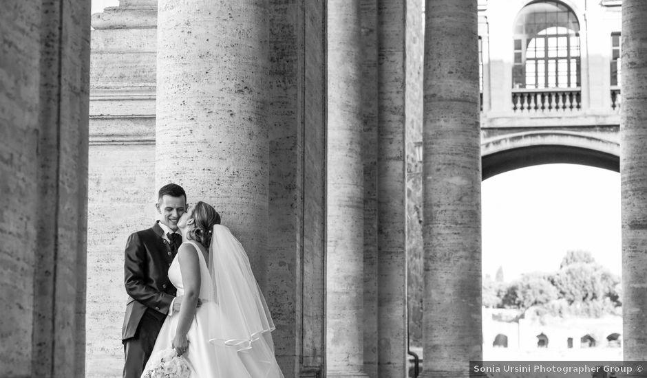 Il matrimonio di Fabio e Gaia a Roma, Roma