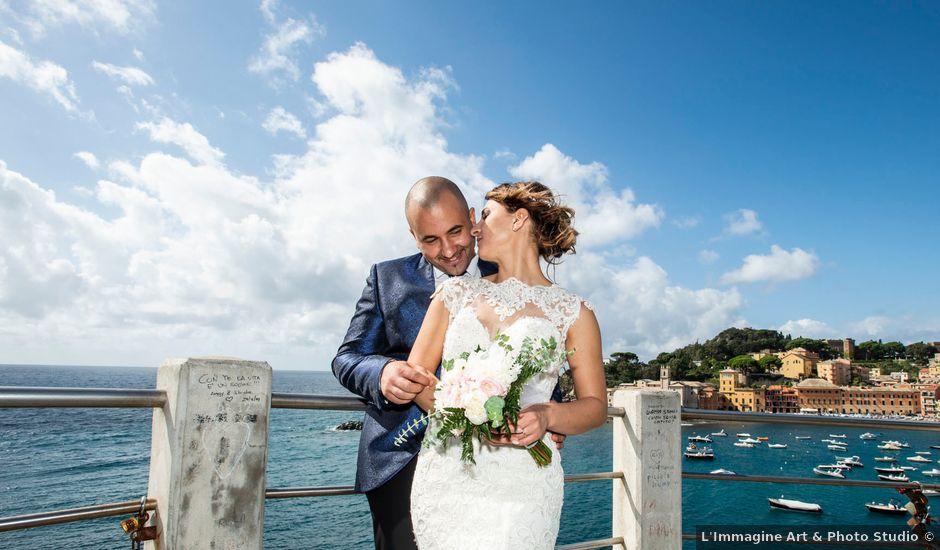 Il matrimonio di Carmela e Riccardo a Casarza Ligure, Genova
