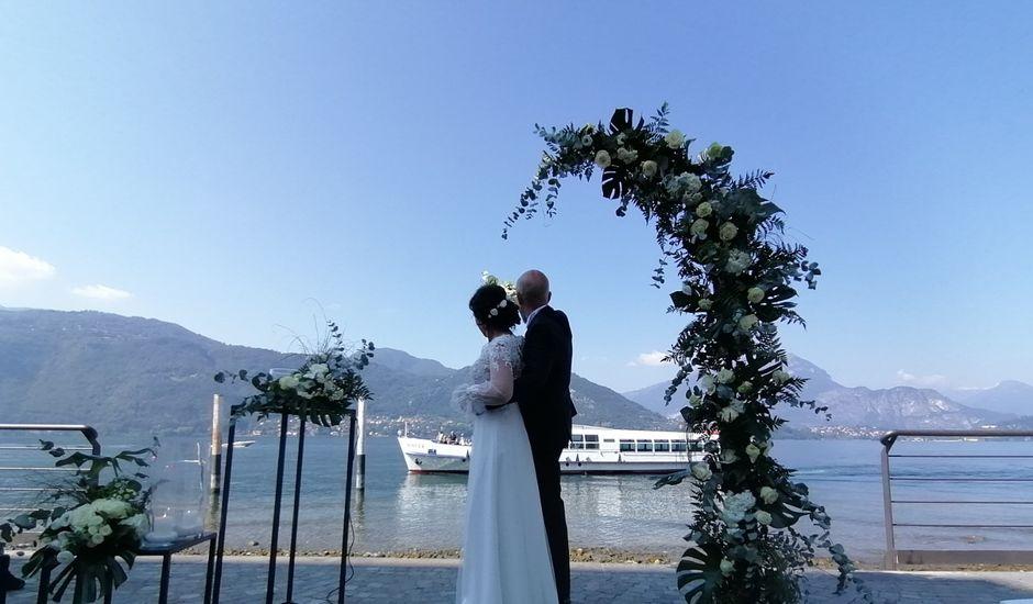 Il matrimonio di Massimo  e Letizia  a Lierna, Como
