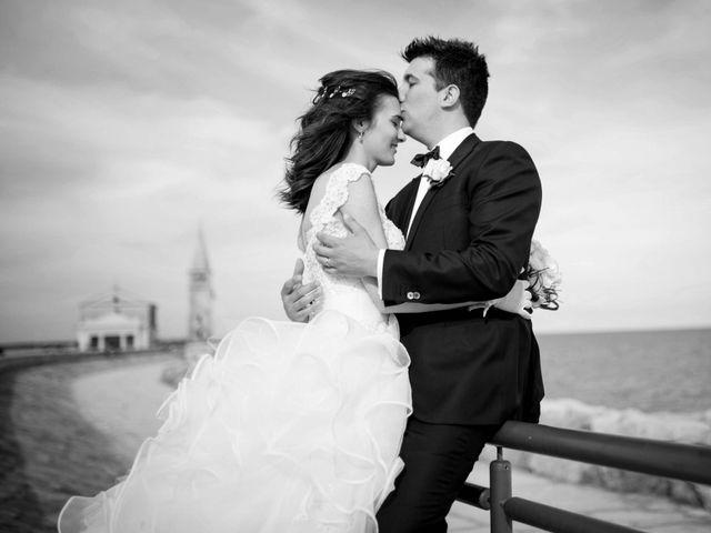 le nozze di Giorgia e Alberto
