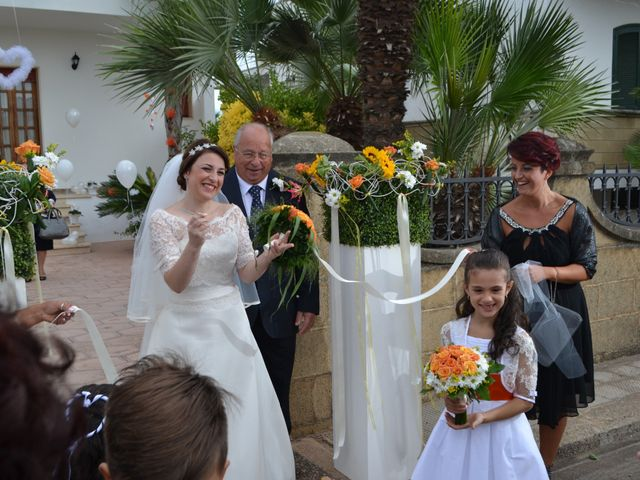 Il matrimonio di Elena e Gianni a Racale, Lecce 10