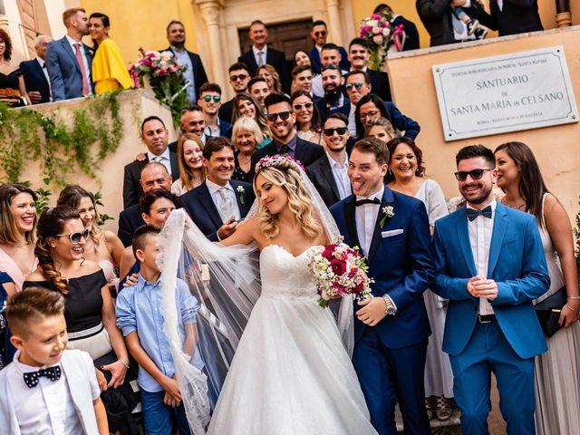 Il matrimonio di Federico e Ambra a Roma, Roma 65