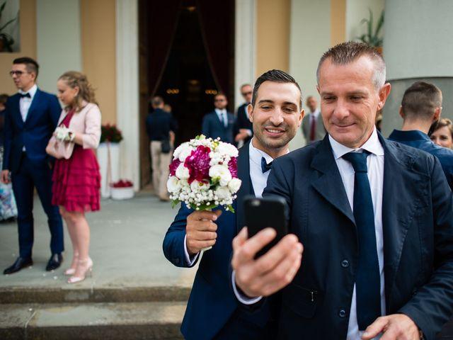 Il matrimonio di Enrico e Giulia a Rudiano, Brescia 24