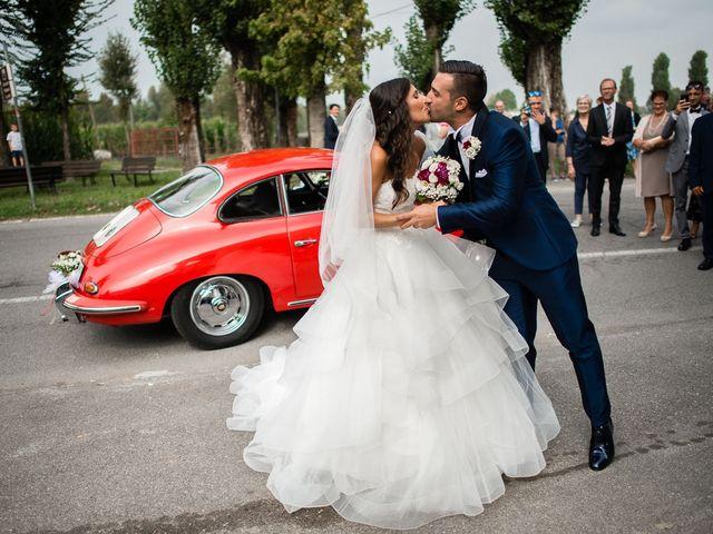 Il matrimonio di Enrico e Giulia a Rudiano, Brescia 28
