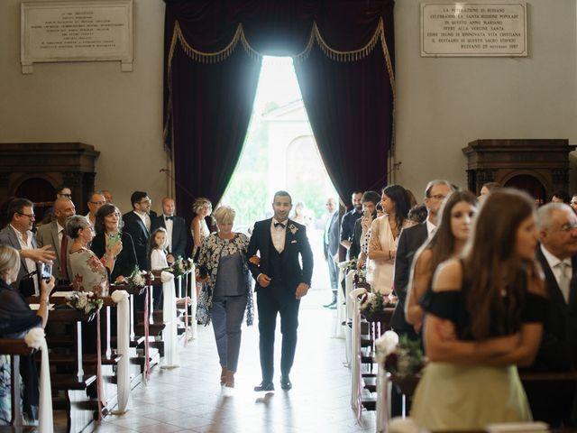 Il matrimonio di Enrico e Giulia a Rudiano, Brescia 31