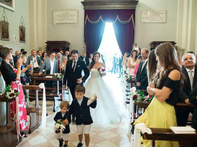 Il matrimonio di Enrico e Giulia a Rudiano, Brescia 32