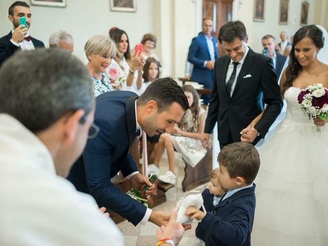 Il matrimonio di Enrico e Giulia a Rudiano, Brescia 33