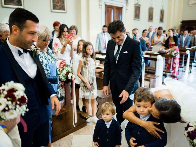 Il matrimonio di Enrico e Giulia a Rudiano, Brescia 34