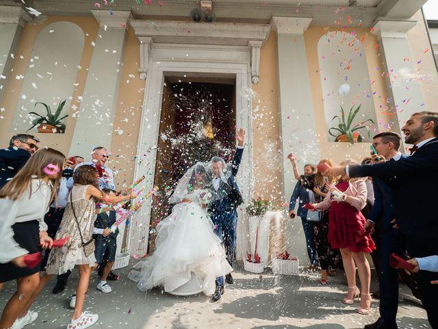 Il matrimonio di Enrico e Giulia a Rudiano, Brescia 47