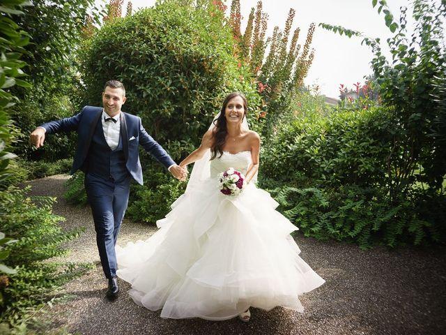 Il matrimonio di Enrico e Giulia a Rudiano, Brescia 54