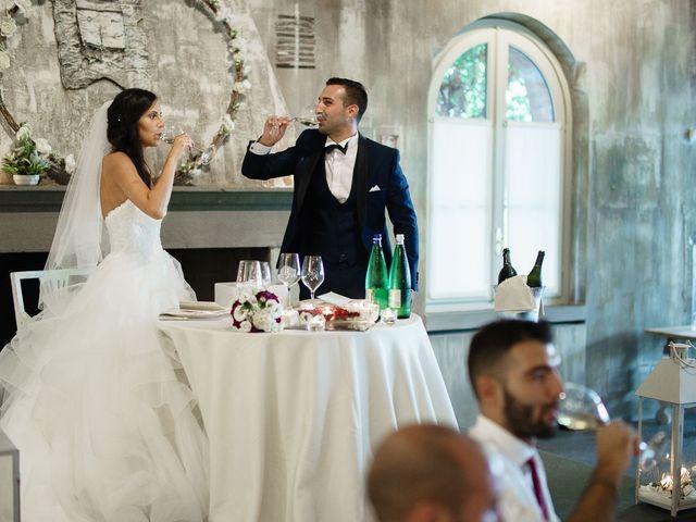 Il matrimonio di Enrico e Giulia a Rudiano, Brescia 70
