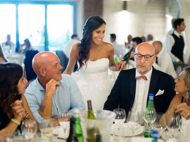 Il matrimonio di Enrico e Giulia a Rudiano, Brescia 73