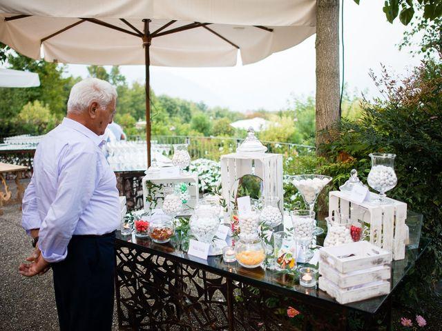 Il matrimonio di Enrico e Giulia a Rudiano, Brescia 86