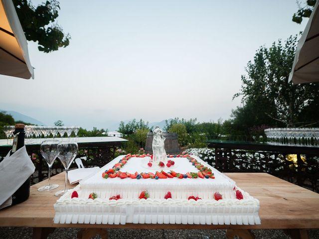 Il matrimonio di Enrico e Giulia a Rudiano, Brescia 88