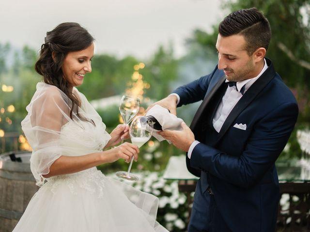 Il matrimonio di Enrico e Giulia a Rudiano, Brescia 90