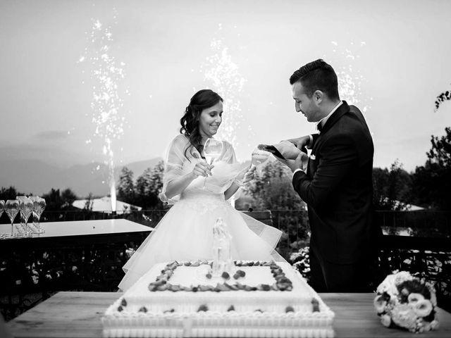 Il matrimonio di Enrico e Giulia a Rudiano, Brescia 91