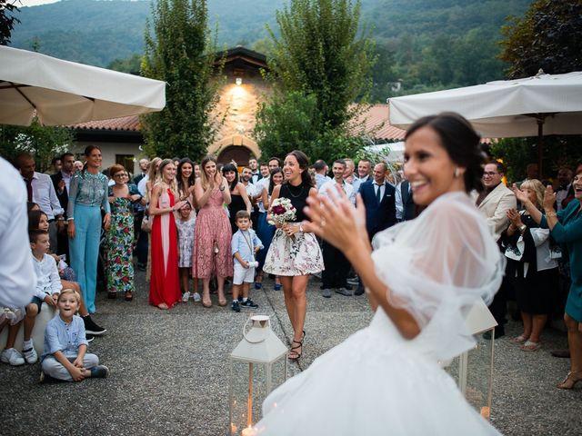 Il matrimonio di Enrico e Giulia a Rudiano, Brescia 93