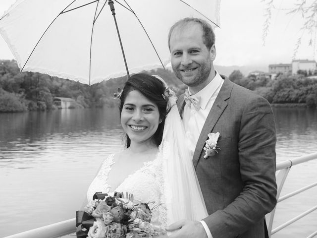 Il matrimonio di David e Kariz a Iseo, Brescia 14
