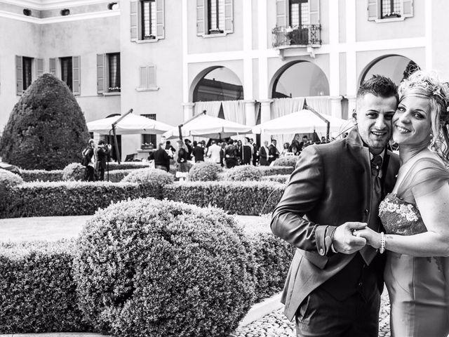 Il matrimonio di Mirco e Astrid a Brescia, Brescia 55