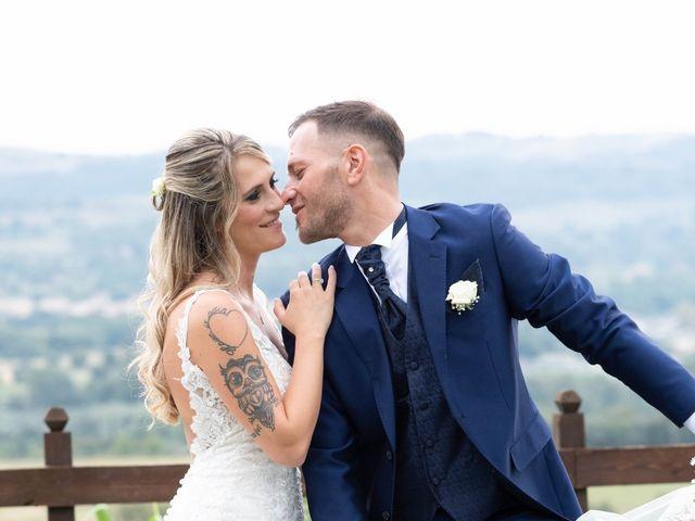 Il matrimonio di Fedele e Manuela a Trevignano Romano, Roma 33