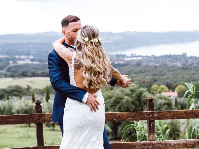 Il matrimonio di Fedele e Manuela a Trevignano Romano, Roma 35