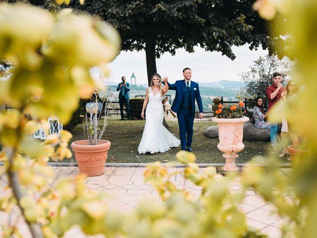 Il matrimonio di Fedele e Manuela a Trevignano Romano, Roma 40