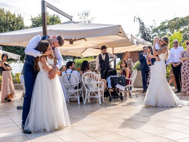 Il matrimonio di Fedele e Manuela a Trevignano Romano, Roma 44