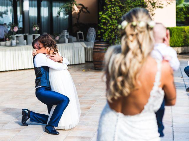 Il matrimonio di Fedele e Manuela a Trevignano Romano, Roma 45