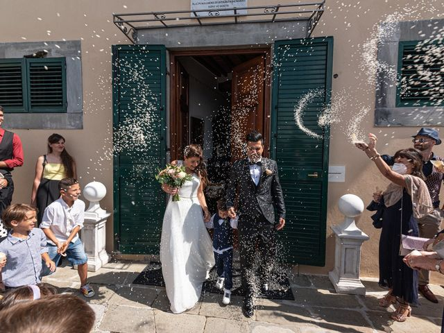 Il matrimonio di Riccardo e Alessandra a Capannori, Lucca 1