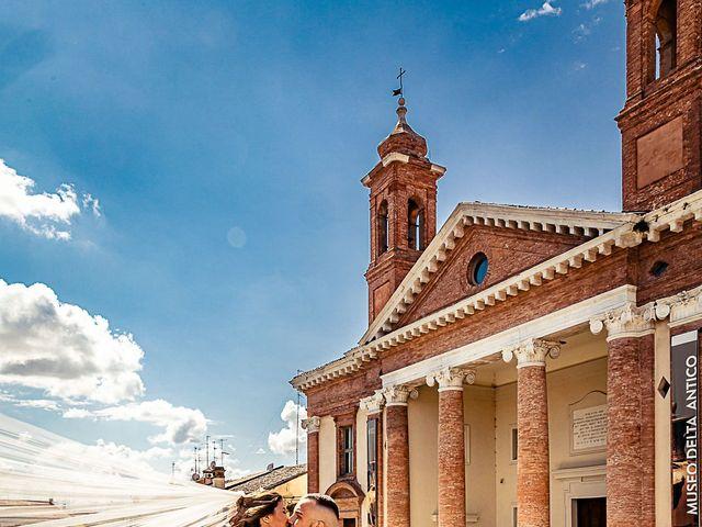 Il matrimonio di Alessandro e Francesca a Comacchio, Ferrara 3