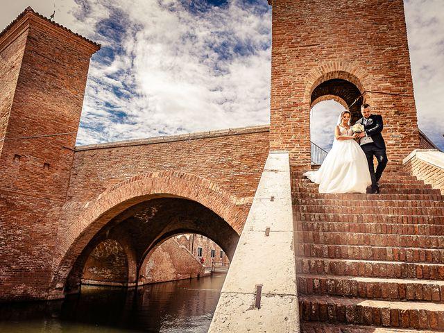 Il matrimonio di Alessandro e Francesca a Comacchio, Ferrara 6