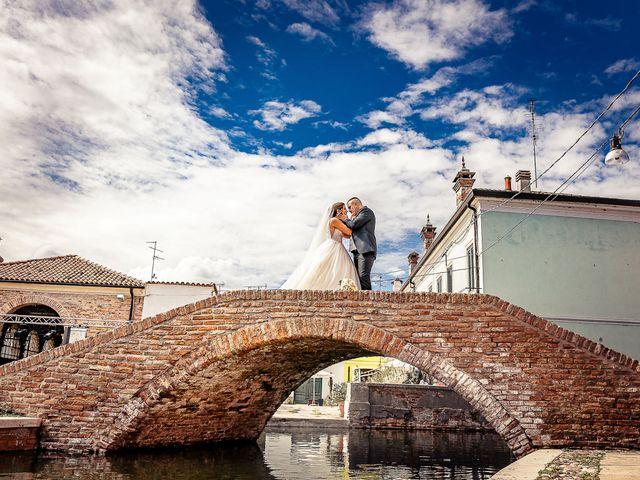 Il matrimonio di Alessandro e Francesca a Comacchio, Ferrara 7