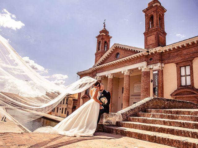 Il matrimonio di Alessandro e Francesca a Comacchio, Ferrara 19