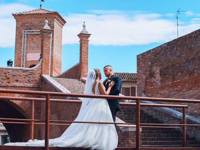 Il matrimonio di Alessandro e Francesca a Comacchio, Ferrara 27