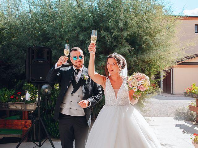 Il matrimonio di Alessandro e Francesca a Comacchio, Ferrara 35