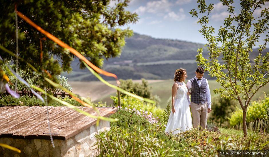 Il matrimonio di Alessandro e Katia a Tarquinia, Viterbo