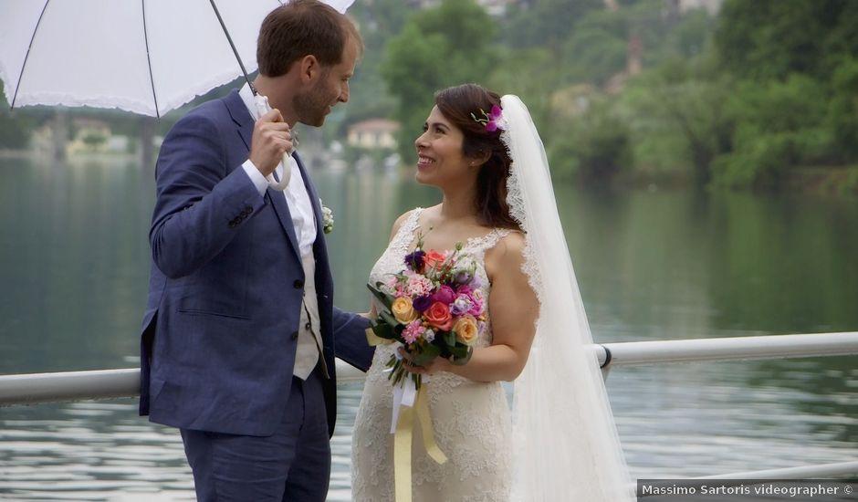 Il matrimonio di David e Kariz a Iseo, Brescia