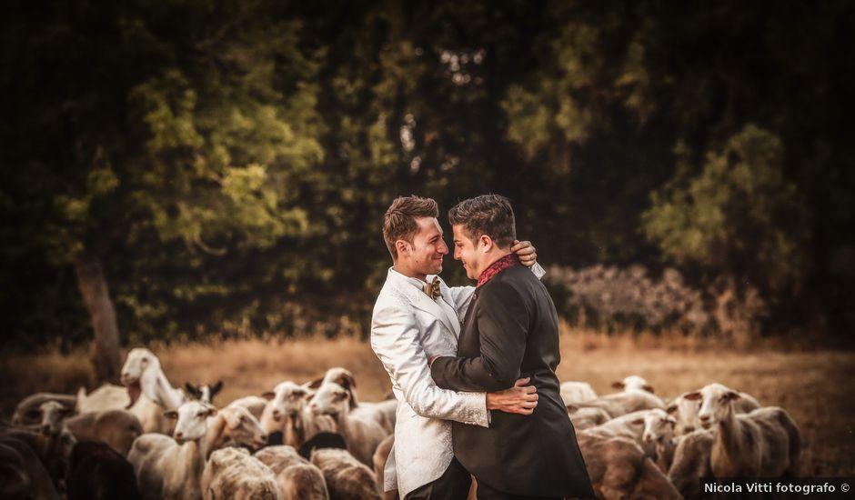 Il matrimonio di Francesco e Angelo a Carovigno, Brindisi