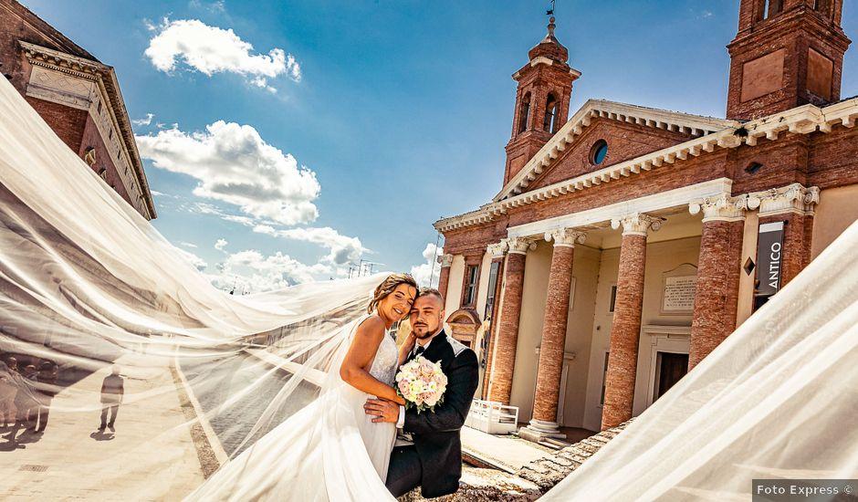 Il matrimonio di Alessandro e Francesca a Comacchio, Ferrara
