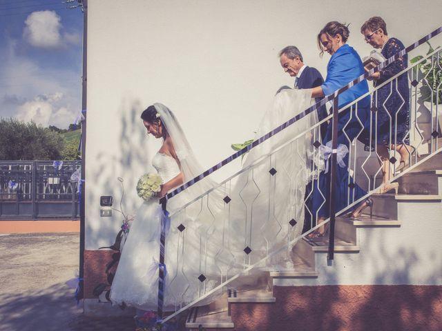 Il matrimonio di Costanzo e Federica a Città Sant'Angelo, Pescara 20