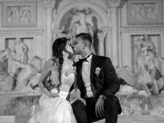 le nozze di Erika e Alex