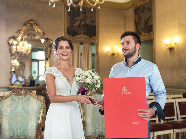 Il matrimonio di Eugenio e Vittoria a Ivrea, Torino 5