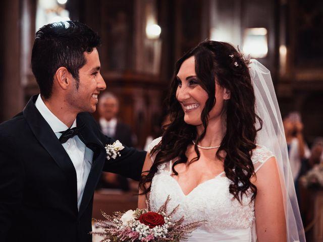 Il matrimonio di Jefferson e Erika a Roma, Roma 1