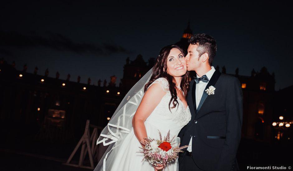 Il matrimonio di Jefferson e Erika a Roma, Roma