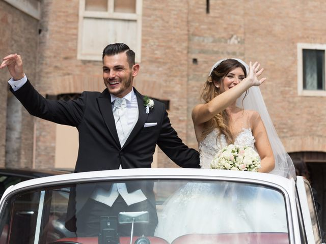 le nozze di Micaela e Simone