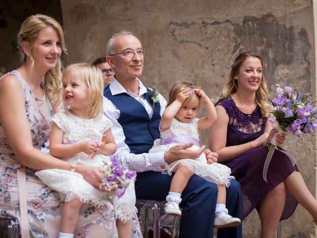 Il matrimonio di James e Nicola a Certaldo, Firenze 27