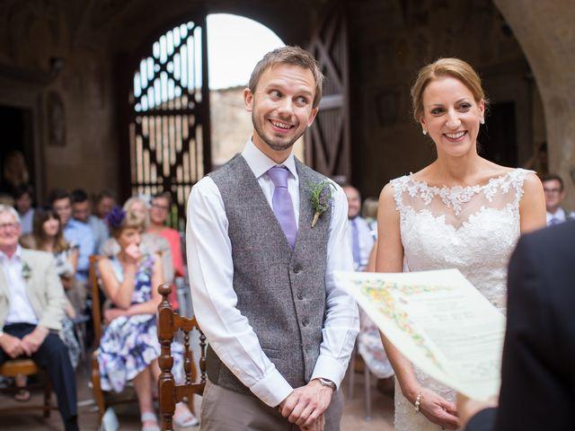 Il matrimonio di James e Nicola a Certaldo, Firenze 29